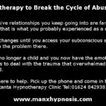 Hypnotherapy to end abuse and attract love